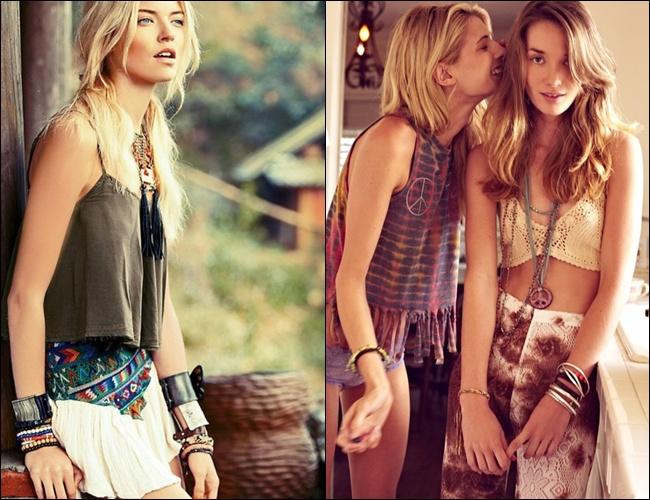 Bohemian-stijl-mode