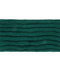 Gebreide-Groene-Haarband-one-size-kopen-bij-Sjaalskopen-warme-groene-hoofdband-achterkant-breisel