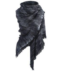 Gemeleerde-Omslagdoek-Zwart-kopen-bij-Sjaalskopen.nl-acryl-vierkante-sjaal