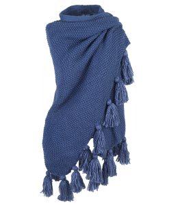 Omslagdoek-gebreide-omslagdoek-blauw-kopen-bij-Sjaalskopen.nl-omslagdoek-acryl-omgeslagen