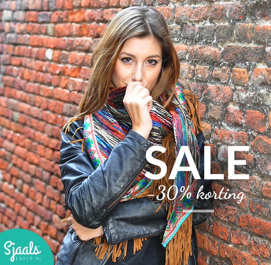 SALE-30-procent-korting-op-sjaals-omslagdoeken-en-poncho's-bij-Sjaalskopen.nl