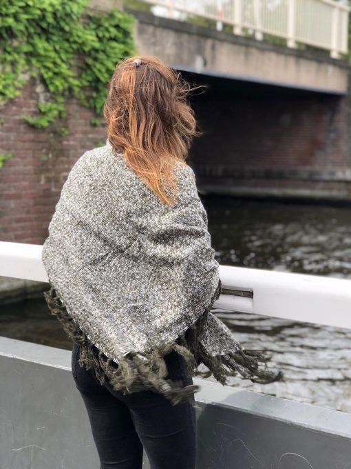 Sjaalskopen.nl-omslagdoek-gemeleerd-groen-kopen-grote-gmeleerde-groene-sjaal