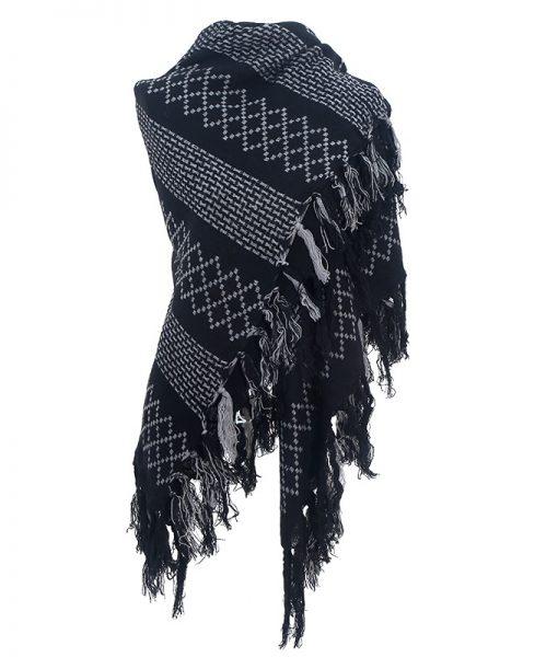 print-omslagdoek-zwart-gemaakt-van-acryl-kopen-bij-sjaalskopen-grote-goedkope-omslagdoek-omgeslagen