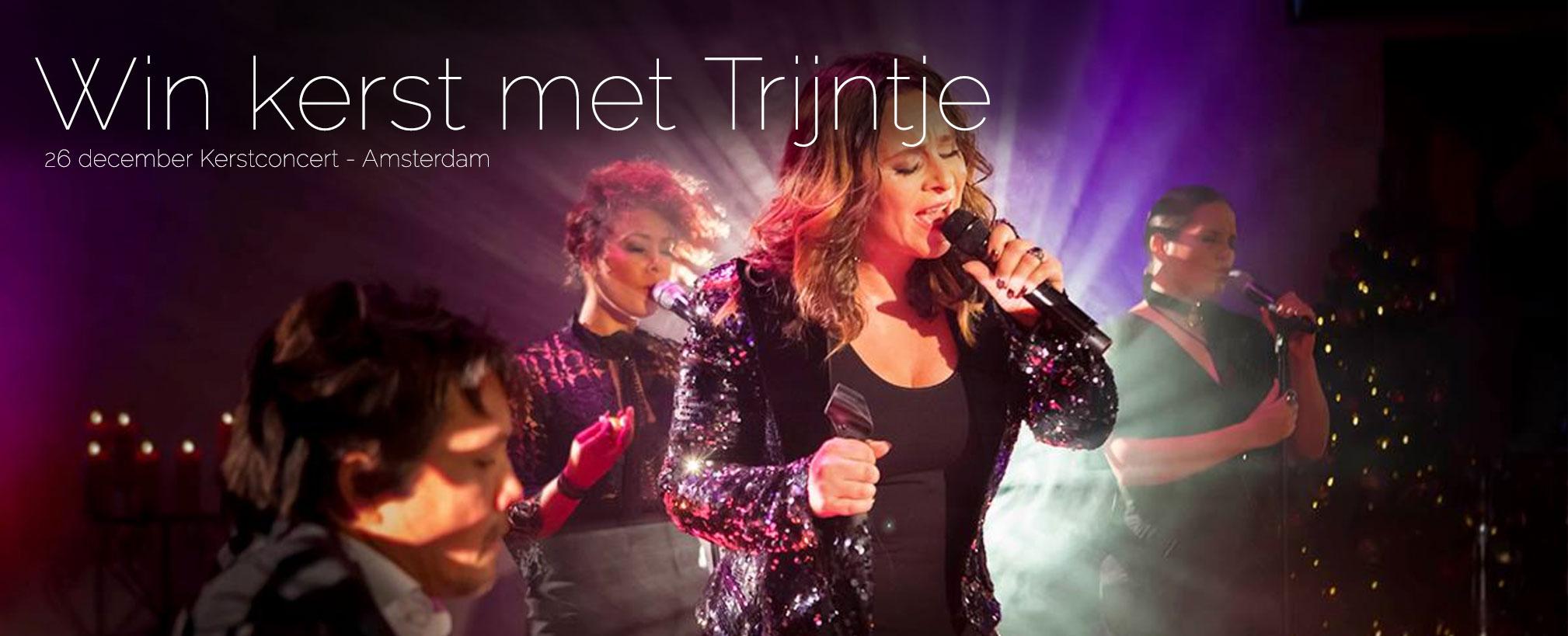 Kerst vieren met Trijntje Oosterhuis in Amsterdam. Win!